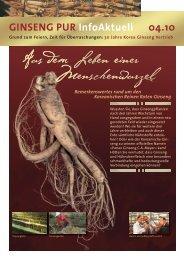 InfoAktuell_04 10.pdf - Ginseng-Pur.de