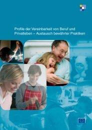 Profile der Vereinbarkeit von Beruf und Privatleben – Austausch ...