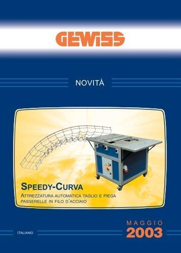 NOVITÀ SPEEDY-CURVA - Gewiss