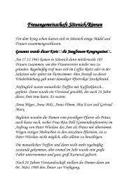 Weitere Infos hier klicken! - Gdg-steinfeld.de