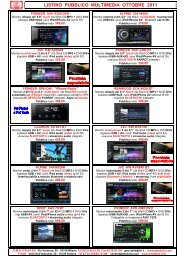 Listino GMA Pubblico Multimedia Ott 2011 - GMA ITALIA srl
