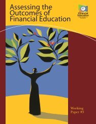 Assessing the Outcomes of Financial Education.pdf - Microfinance ...