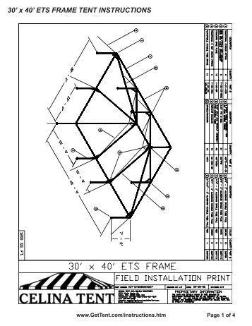 20 39 x 30 39 master series frame tent directions www celina tent. Black Bedroom Furniture Sets. Home Design Ideas