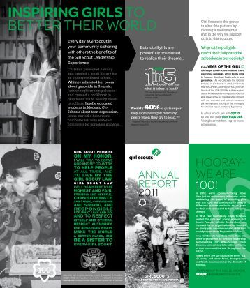 Annual Report - Girl Scouts Heart Of Central California