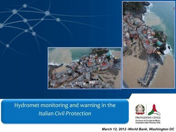 Italian Civil Protection - GFDRR