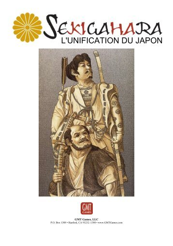 Traduction Livret Sekigahara - GMT Games