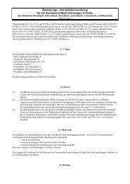Benutzungs- und Gebührenordnung für die ... - Fürth
