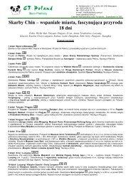 Program CSKA-3-2010 - Gejsza Travel