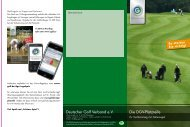 Flyer DGV-Platzreife - Golf-Club Bergisch Land