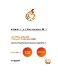 Calendario corsi Bianchiacademy 2012