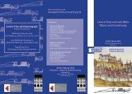 Lorenz Fries als Historiograph - Institut für Geschichte - Universität ...