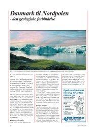 Geologisk Nyt 5, 2003, Danmark til Nordpolen - den ... - GEUS