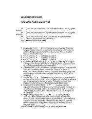WILDERNESS WAR - GMT Games