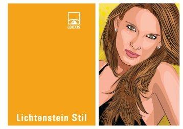 Lichtenstein Stil