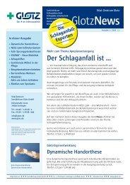 Newsletter Download - Vital-Zentrum Sanitätshaus Glotz