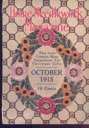 Home Needlework Magazine October 1915
