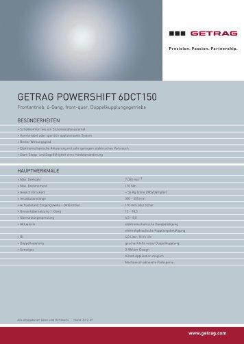 GETRAG PowERShifT 6DCT150