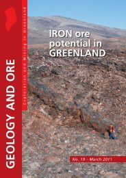 IRON Ore Potential In GREENLAND - GEUS