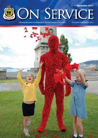 On Service Spring 2011 - RSL Tasmania