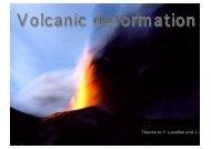 Volcanic deformation II (updated 23.2.2008)