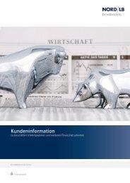 Nordlb kundeninformation  Wertpapiere 140815 dt Privatprofi KC
