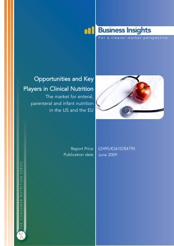 Opportunities and Key Players in Clinical Nutrition - Business Insights