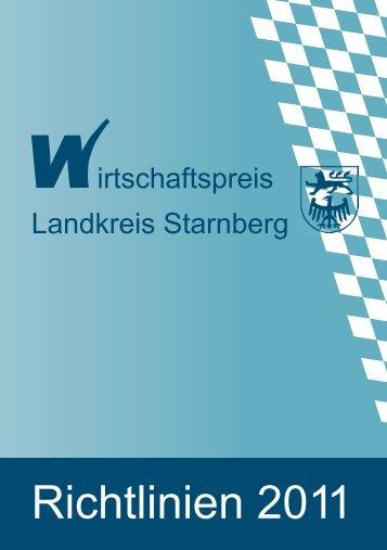 Richtlinien 2011 - GFW Starnberg mbH