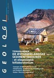 De østgrønlandske sedimentbassiner - Geus