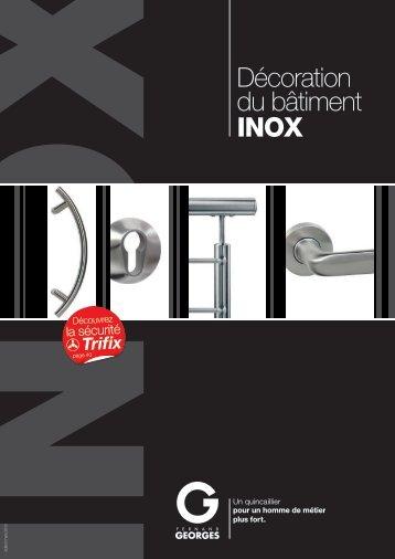 Décoration du bâtiment INOX (PDF) - Fernand GEORGES