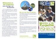 Jungschar-Flyer für Mitarbeiterinnen und Mitarbeiter - GJW