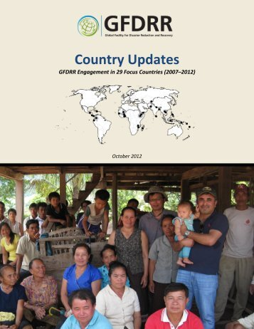 Country Updates - GFDRR