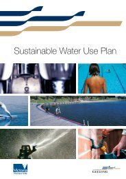 Sustainable Water Use Plan (PDF - 1.0MB) - City of Greater Geelong