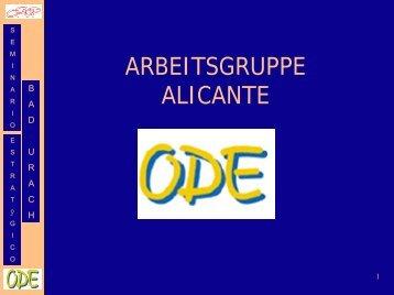 Selbstvorstellung des Teams aus Alicante (PDF-Datei