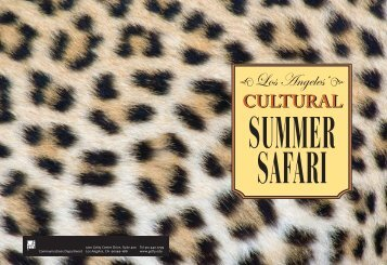 Family Passport for Los Angeles' Cultural Safari - The Getty
