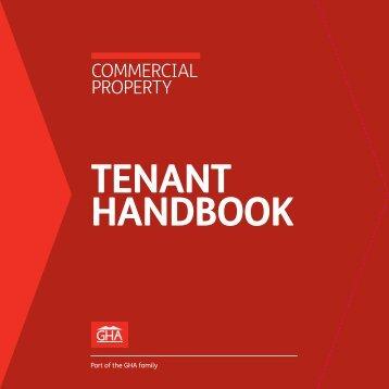 Commercial Tenant Handbook - Glasgow Housing Association