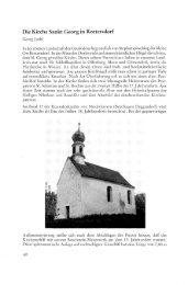 Die Kirche Sankt Georg in Rottersdorf - Geschichtsverein für den ...