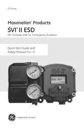 Masoneilan Products SVI II ESD - GE Energy