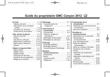 Canyon (PDF, 5.7 Mo) - GM Canada