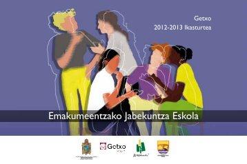 2012/2013 ikastaroak - Getxo