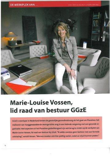 Marie-Louise Vossen, - GGzE