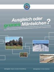 grünes - Gregor Louisoder Umweltstiftung