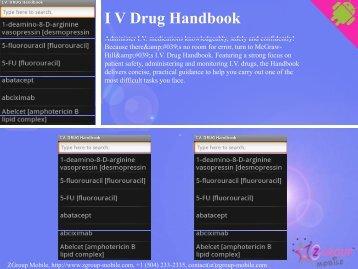 I V Drug Handbook - Get Mobile game