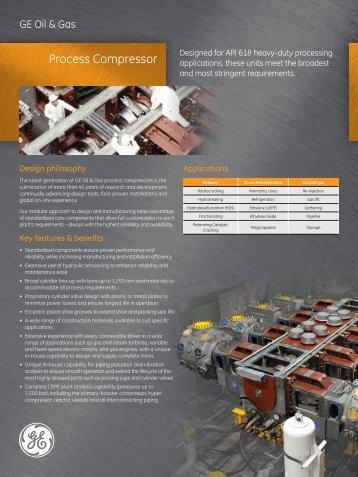 Process Compressor - GE Energy