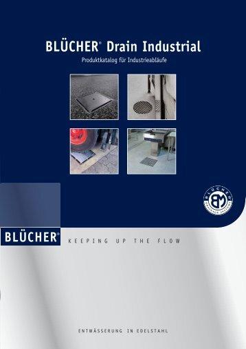 BLÜCHER® Drain Industrial Produktkatalog für Industrie Abläufe