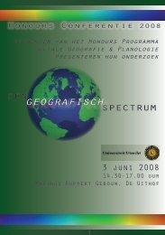 geografisch - Universiteit Utrecht