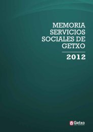 Memoria Servicios Sociales 2012 en pdf Descargar - Getxo
