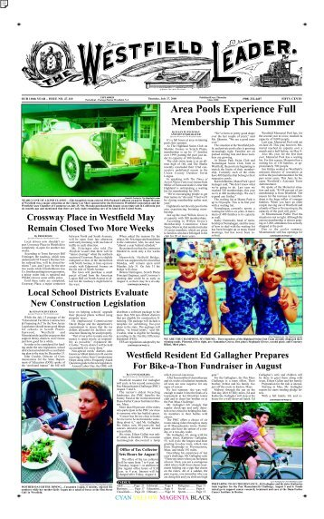 00jul27 newspaper - The Westfield Leader