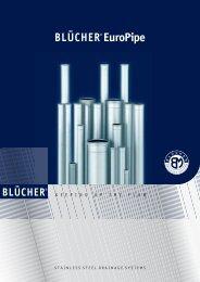 BLÜCHER® Europipe Vorstellung Abwasserrohrsystem