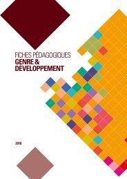 fiches pédagogiques genre & développement - Genre en action