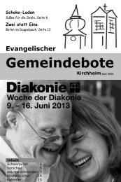 Juni 2013 - Gemeindebote